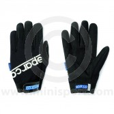 Mechanics Gloves - Sparco - Black