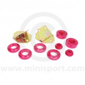 SPDSP601 Mini front subframe solid alloy mounting kit - 10 piece