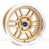 "7 x 13"" Ultralite ENKI Mini Wheel - Gold"