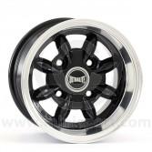 "6 x 10"" Ultralite Mini Deep Dish Wheel - Black"