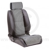 Stuttgart by Cobra - Mini Seat in Houndstooth finish