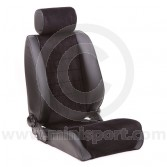 Stuttgart Mini Seat by Cobra- Black Soft Grain Vinyl