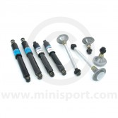 SUSKIT11 Mini Sports suspension kit with BOGE oil shock absorbers
