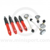 SUSKIT6L Mini Sports suspension kit with Spax lowered adjustable shock absorbers