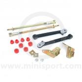 SUSKIT7B Mini Sport negative camber & tracking kit including poly bushes