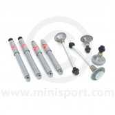 SUSKIT8 Mini Sports suspension kit with KYB gas-a-just shock absorbers