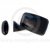 Door Mirror - Black - Convex - LH