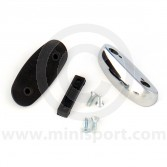 Door Mirror Fitting Adaptor - Chrome