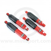 TG231KIT Avo adjustable Mini Group A large body front and rear shock absorbers set of 4