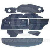 12 Piece Interior Panel Kit for Mini Clubman Saloon LHD 69-75