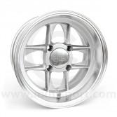 6 x 12 Mamba Wheel - Silver/Polished rim