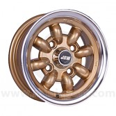 5 x 10 Minilight Wheel - Gold Polished Rim