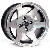 7 x 13 Starmag Alloy Wheel - Diamond/ Black