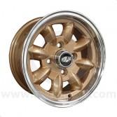 5.5 x 12 Superlight Wheel - Gold/Polished Rim