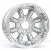 7 x 13 Superlight Wheel - Silver/Polished Rim