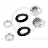 Wiper Wheel Box Bezel Kit - Chrome