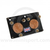 Stopwatch Holding Panel - Aluminium Medium Dual