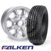 "4.5"" x 12"" Cooper Replica Wheel - Falken ZE914 Package"