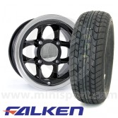 "5"" x 10"" Mamba Alloys in Black - Falken FK07E Package"