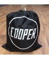 Car cover bag with Cooper logo