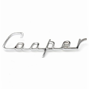 Cooper Script Boot Badge