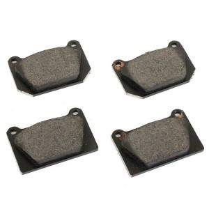 Brake Pad Set - Mini Sport Alloy Caliper/Metro 4 Pot Caliper - Mintex