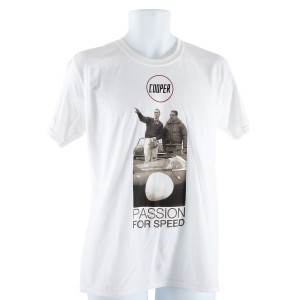 Cooper T Shirt - Steve McQueen - XX Large