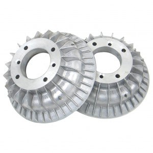 Superfin Alloy Mini Brake Drums