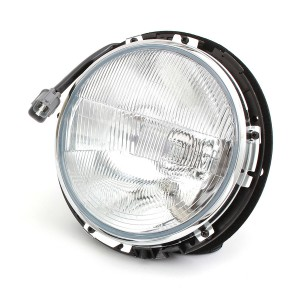 Complete Mini Headlight Assembly (RHD) - with rim