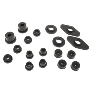Poly Bush Full Car Kit - 76-01 - Black