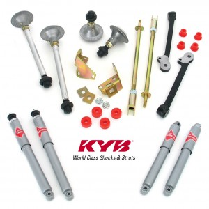 Performance Handling Kits with KYB Gas-a-Just shock absorbers