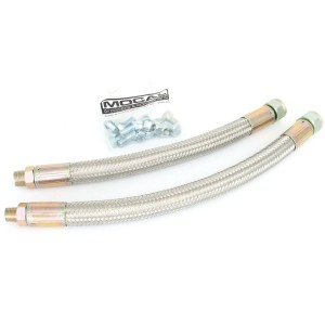 Oil Cooler Moquip Stainless Braided Hoses - 1275/Cooper S