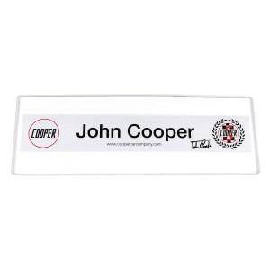 John Cooper Rear Window Sticker