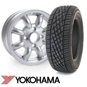 "4.5"" x 12"" Cooper Replica Wheel - Yokohama A539 Package"