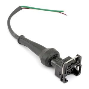 Coolant Fan Sensor Connector with  Short Loom - MPi
