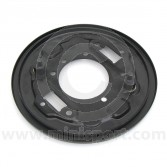 37H2013 Right hand side Mini front back plate for twin leading shoe drum brakes 1968 on