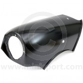 BMP455 Genuine LH Front Wing with Side Repeater and Aerial hole for all Mini models 1986-1996