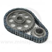 Mini Sport Lightened Duplex Timing Gear & Chain Set