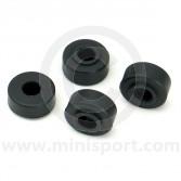 C-STR628 Uprated rubber Mini suspension tie rod bush kit set 4