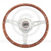Cooper Wood Steering Wheel - Mk1