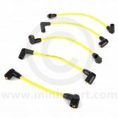Yellow - 7mm Silicone Spark Plug Lead Set 81-96
