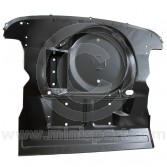 HMP441016 Genuine boot floor assembly steel body panel with battery box for all Mini saloon models.