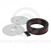 K&N Air Filter - HS4/HIF38 Carb 44mm - Centre Hole