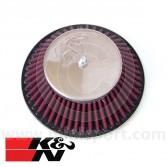 K&N Cone Air Filter - 1.75'' HIF44 Carb - 1275cc