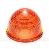Glass Amber Indicator Lens 1959-1986
