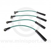 Green - 7mm Silicone Spark Plug Lead Set 97-01