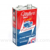 MIL20/50 Millers classic Mini mineral engine oil - 20w 50 - 5 litres