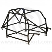 RBN046 Mini Multipoint Bolt-in Roll Cage - Black