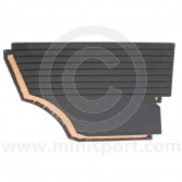 Mini Interior Rear Quarter Panels Black
