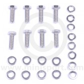 Rear subframe radius arm bracket fitting kit for Classic Mini